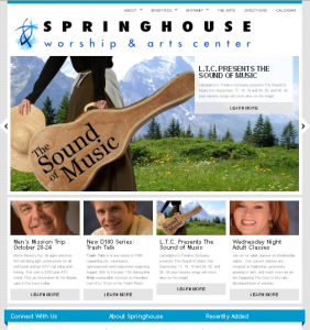 Springhouse 282x300 Wordpress for Our Churchs Website